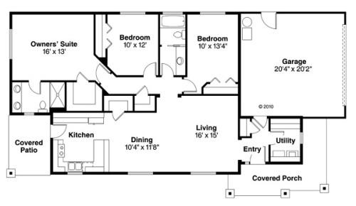 planos de casas simples en autocad