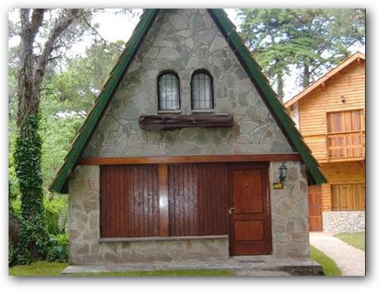 Casa Alpina con paredes