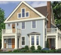 Planos de casas de dos plantas de 250 metros cuadrados for Diseno de casa de 180 metros cuadrados