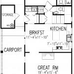 Plano de casa con estilo neoclásico
