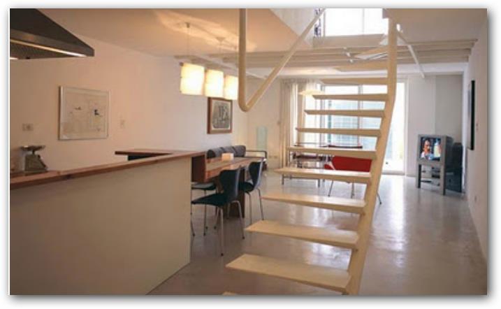 Casa tipo loft plan pequenas planos de casas for Casa moderna tipo loft