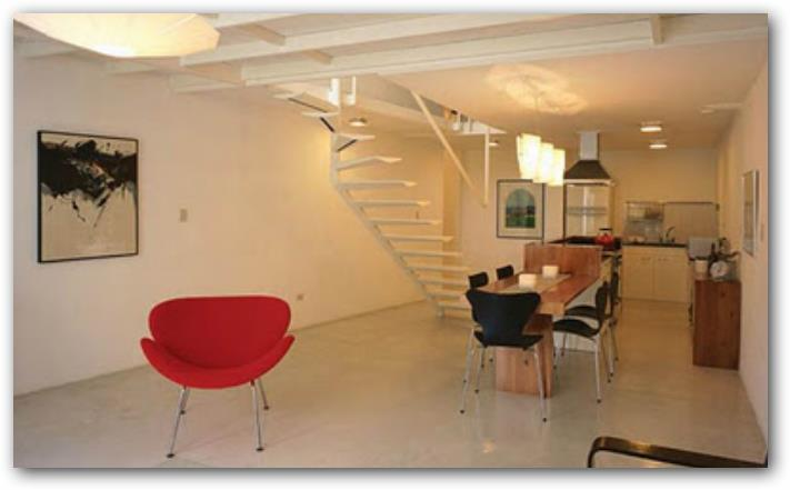 Diseño de loft moderno