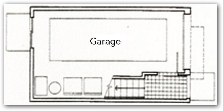 Fachada angosta primer piso