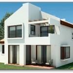 Plano de vivienda 140 metros cuadrados