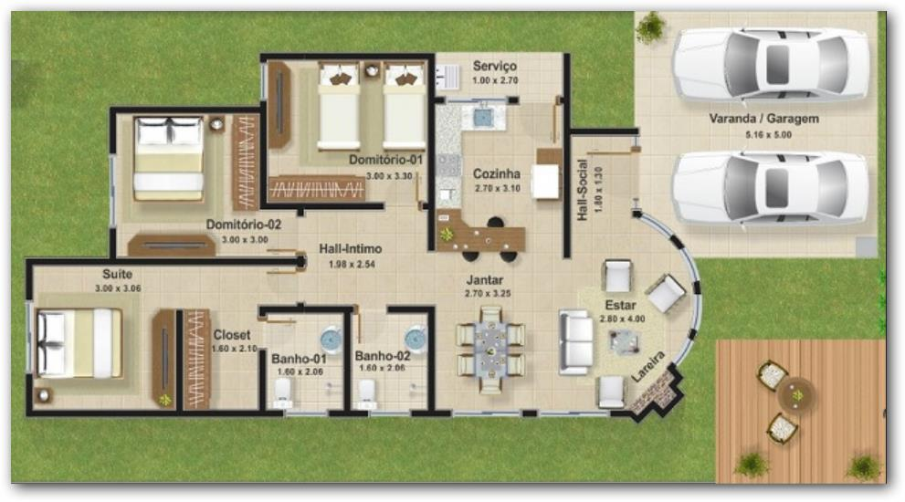 Baños Modernas Fotos:Floor plan, replace bedrooms with sun room (put bedrooms and game room