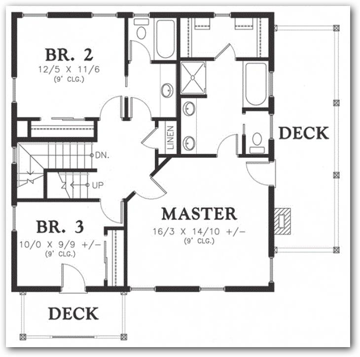 Planos de casas de dos plantas de 250 metros cuadrados for Medidas de muebles en planta