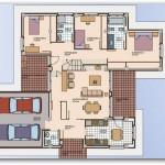 Planos de casas modernas en un solo piso