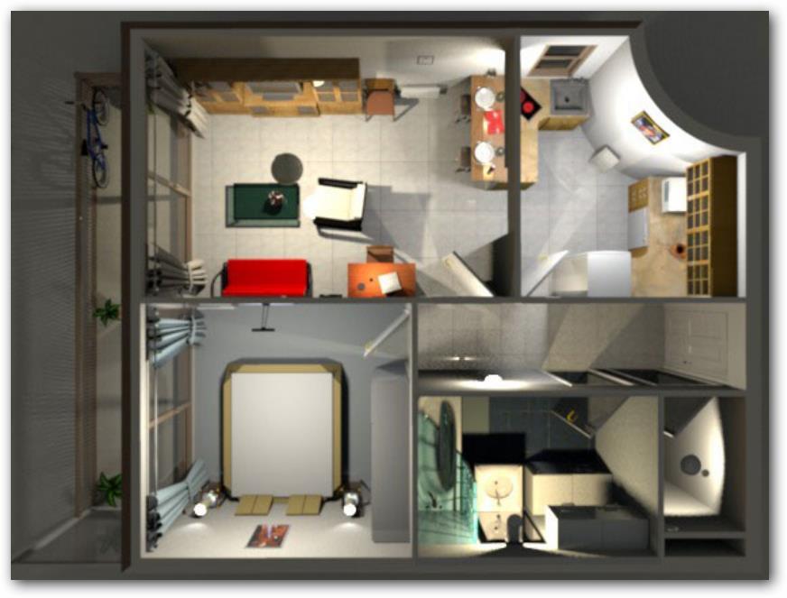 Como hacer planos de casas en 3d for Hacer planos 3d