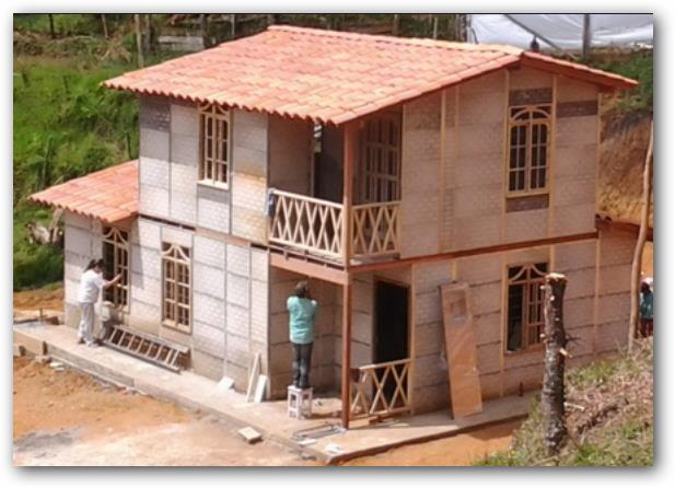 Fachadas de casas de dos pisos elegantes pequenas for Fachadas casas de dos pisos pequenas