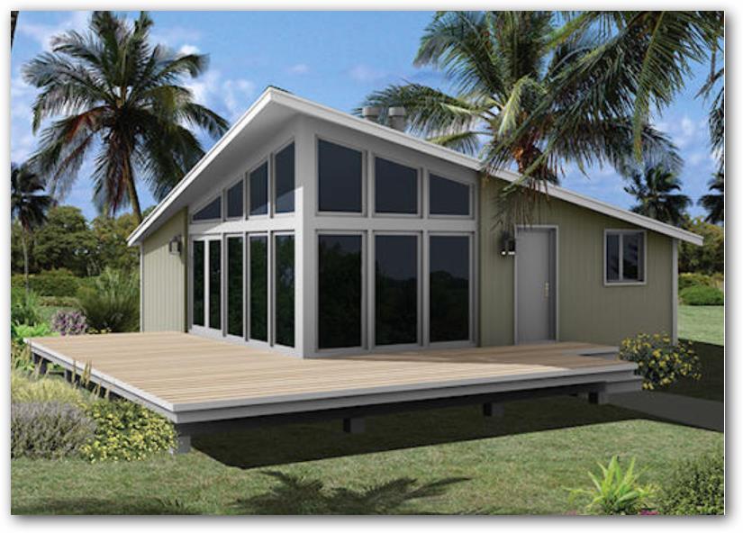 Plano de casa campestre moderna for Planos de casas de campo modernas
