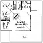 Plano de casa campestre moderna