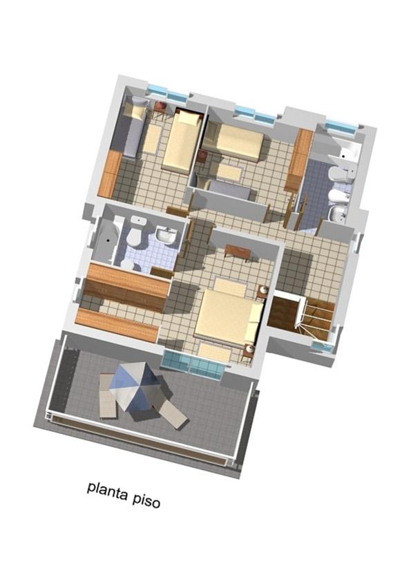 Casa de 3 plantas con sotano