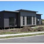 Casa simple y económica de 3 habitaciones