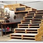 Utilizar palets para construir muebles