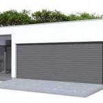 Casa de una planta y garaje doble