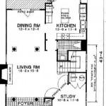 Plano de casa de dos pisos y 160 metros cuadrados