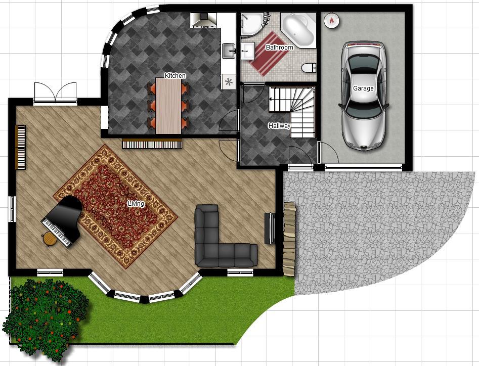 planos de casas pequenas lujosas