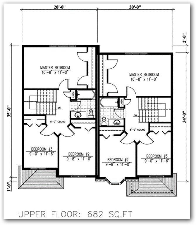 planos de casas inglesas