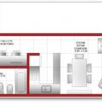 Departamento moderno y amplio de un dormitorio