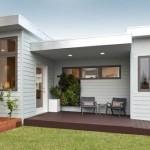 Plano de casa de una planta y 50 metros cuadrados