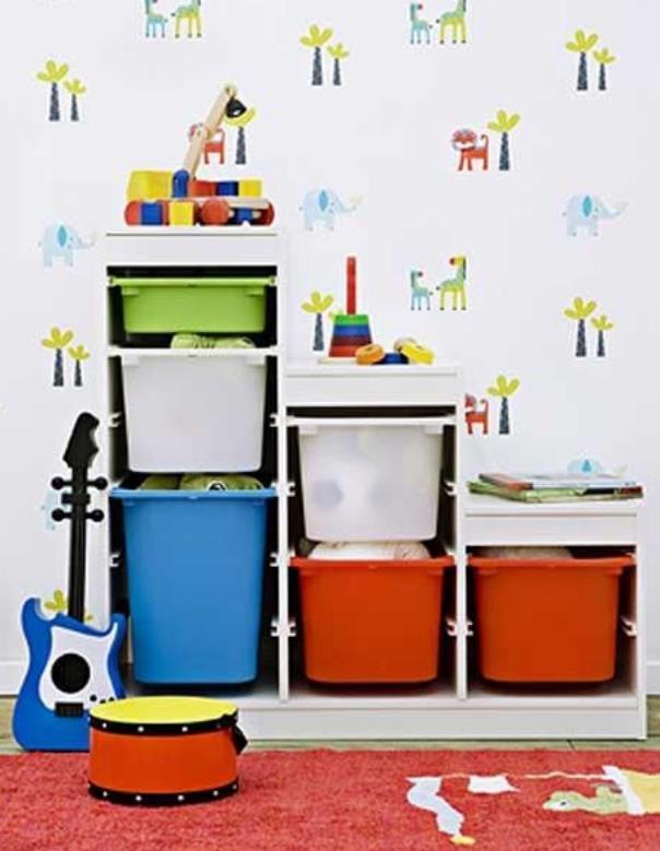 Decoración para una habitación de niños