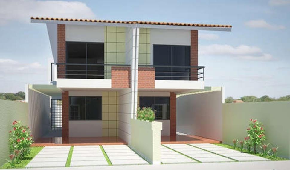 Fachadas de casas pequenas de 5 metros de frente planos for Ver planos de casas pequenas