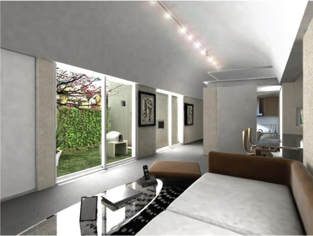 Interior casa plan PROCREAR