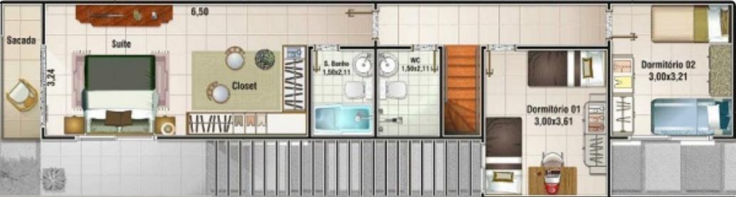 Planos de casas de 5 metros de ancho