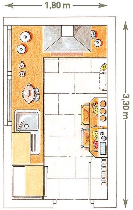 Como dividir la cocina y el lavandero planos de casas for Planos de la cocina