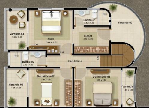 Fachadas de casas de dos pisos con balcon pequenas for Planos y fachadas de casas pequenas de dos plantas