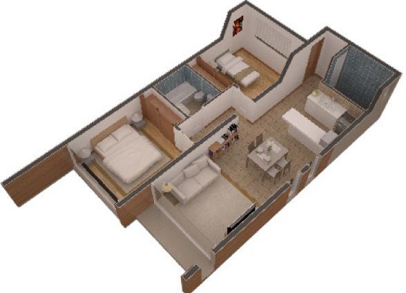Disenos de mini apartamentos planos de casas - Diseno de casas 3d ...