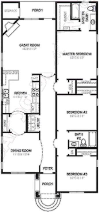 casa estilo ingles plano