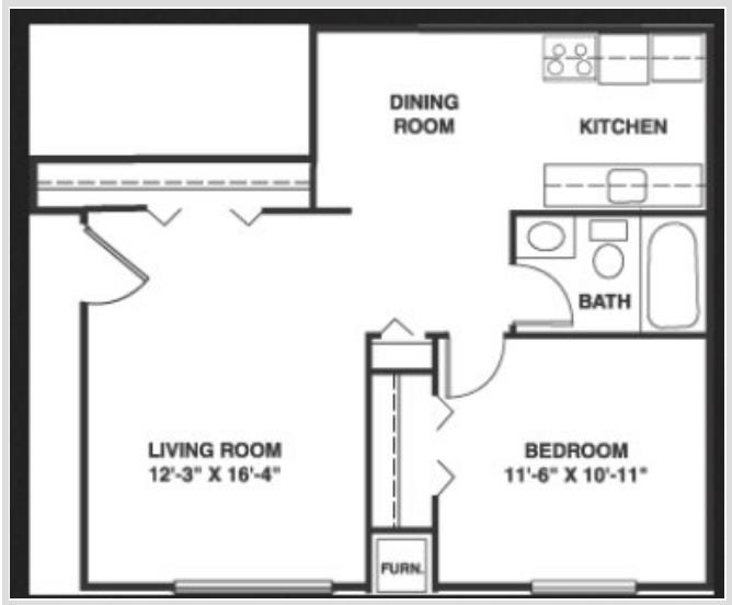 Departamentos planos de casas for Plano habitacion