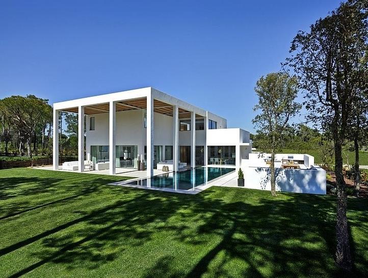 Casa con gran decoración