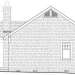 Plano de casa de 3 dormitorios, 1 piso de estilo americano