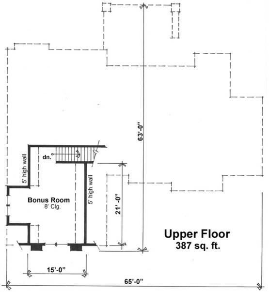 Plano de casa rústica 2 pisos