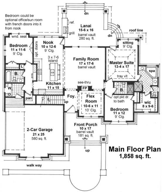 Fachada casa campo rustica planos de casas for Planos de casas de campo de 3 dormitorios