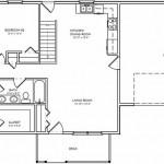 Plano de casa de 3 dormitorios con garage doble