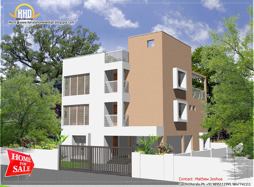 Planos de departamentos pequenos modernos planos de casas for Fachadas de apartamentos modernas
