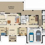 Plano de casa departamento con 1 dormitorio