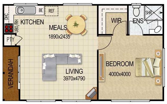 Planos de minidepartamentos de 30 metros cuadrados for Pisos de 30 metros cuadrados ikea