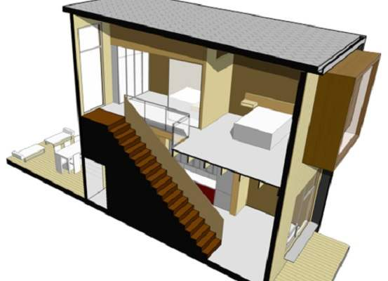 diseno duplex 65 metros planos de casas