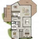 Plano de casa irregular