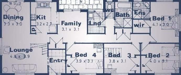 Disenos 42 metros cuadrados planos de casas for Diseno para casa de 90 metros cuadrados