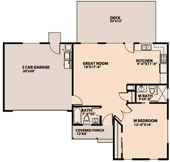 Planos de casas confortables