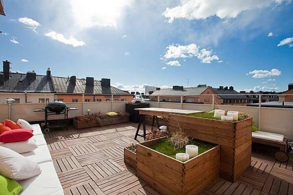 Dise o y decoraci n de terrazas - Como decorar una terraza grande ...