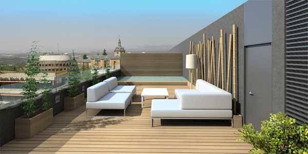 Fotos de terrazas modernas techadas for Terrazas modernas fotos