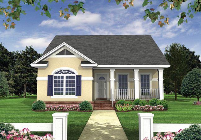 Fachadas de casas económicas y modernas