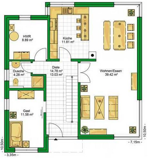 Planos casas de 4 dormitorios planos de casas - Planos de casas de 2 plantas ...