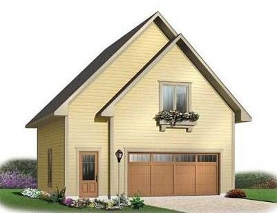 Plano de casa pequeña de dos pisos